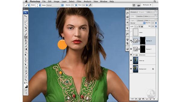 Enhancing lips: Photoshop CS3 Portrait Retouching Techniques