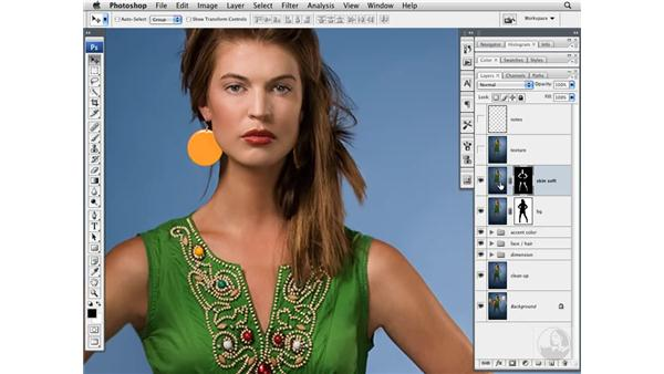 Softening skin: Photoshop CS3 Portrait Retouching Techniques