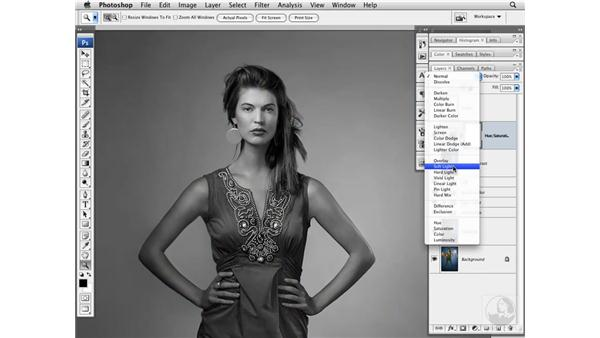 Adding local contrast: Photoshop CS3 Portrait Retouching Techniques