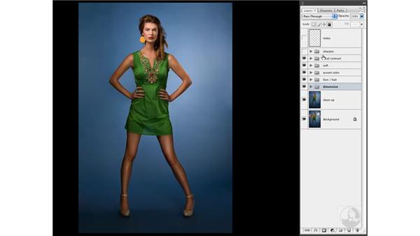 Final image review: Photoshop CS3 Portrait Retouching Techniques