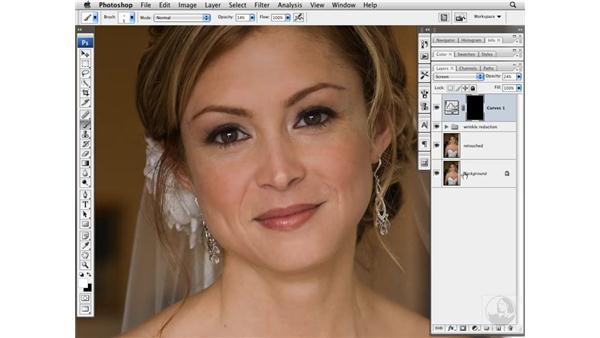 Brightening eyes: Photoshop CS3 Portrait Retouching Techniques