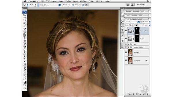 Brightening hair highlights: Photoshop CS3 Portrait Retouching Techniques