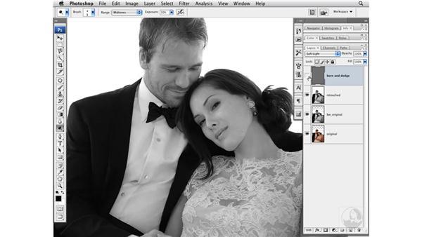 Improving tone with Burn and Dodge: Photoshop CS3 Portrait Retouching Techniques