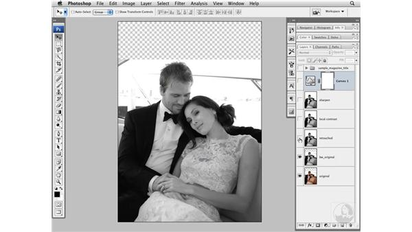 Curves adjustment and final image review: Photoshop CS3 Portrait Retouching Techniques