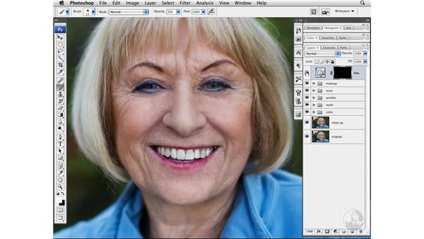 Adding shape and dimension: Photoshop CS3 Portrait Retouching Techniques