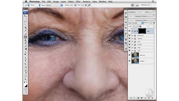 Enhancing eyes: Photoshop CS3 Portrait Retouching Techniques