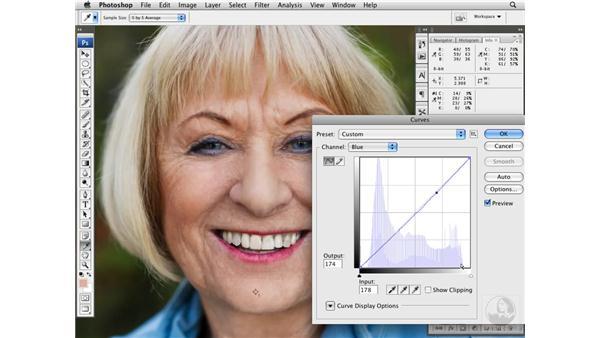 Correcting color and contrast: Photoshop CS3 Portrait Retouching Techniques