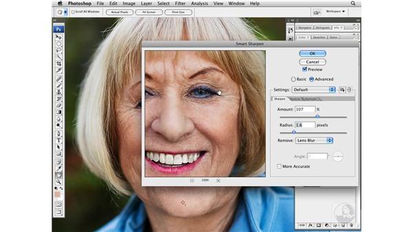Adding local contrast and sharpness: Photoshop CS3 Portrait Retouching Techniques