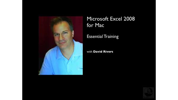 Welcome: Excel 2008 for Mac Essential Training
