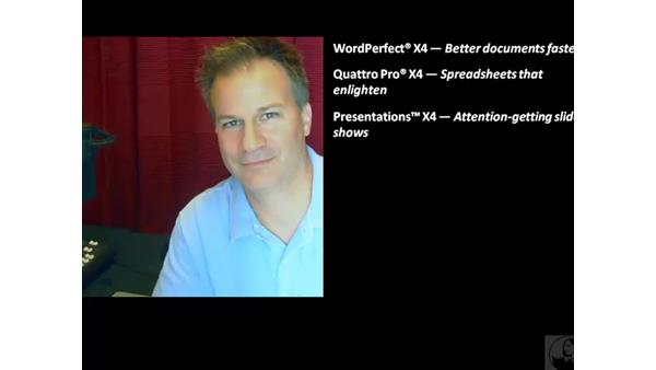 Welcome: Getting Started with WordPerfect Office X4