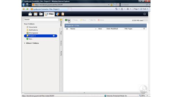 Online file storage: Getting Started with WordPerfect Office X4