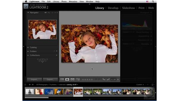 General Lightroom interface shortcuts: Lightroom 2 New Features