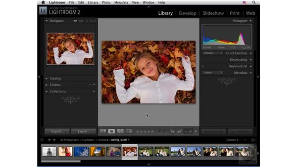 The Library module view modes: Lightroom 2 New Features