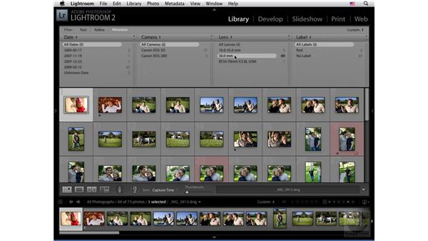 Filters pt. 3: Metadata: Lightroom 2 New Features