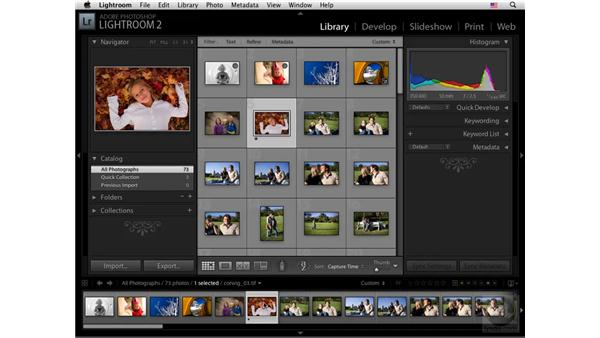 The Catalog panel: Lightroom 2 New Features