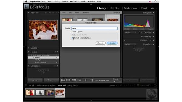 Catalog folders: Lightroom 2 New Features