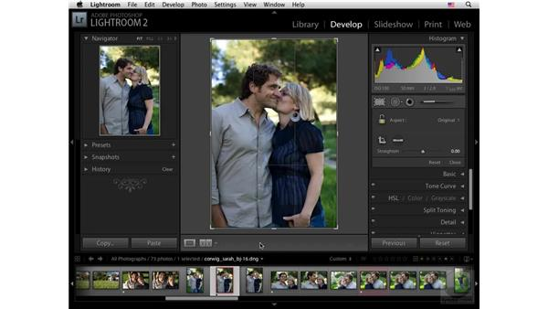 Cropping: Lightroom 2 New Features