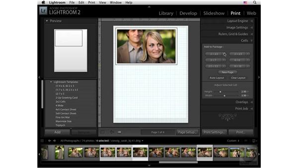 Grid and Picture Package: Lightroom 2 New Features