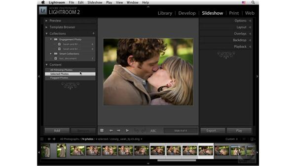 Using Collections and content: Lightroom 2 New Features