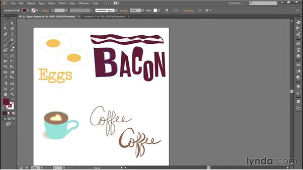 Creating customized type for logos and graphics: Productivity Tips for Web Designers