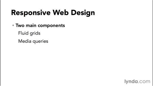 The foundation of responsive web design: Responsive Design with Dreamweaver CC