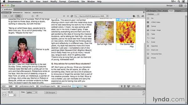 Solution: Add new media: Responsive Design with Dreamweaver CC