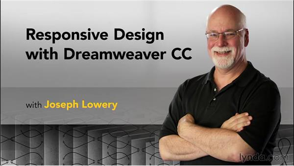 Goodbye: Responsive Design with Dreamweaver CC