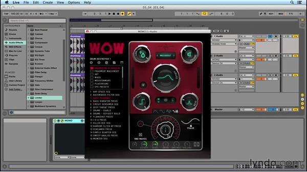 Filter effect: Drum Destroyer: EDM Production Techniques: Extreme Sound Mangling