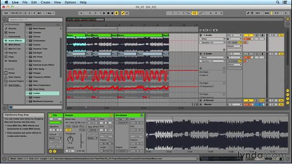 Time-stretching effect: Dark Secret, part two: EDM Production Techniques: Extreme Sound Mangling
