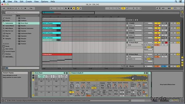 Reverb effect: Mother Ship: EDM Production Techniques: Extreme Sound Mangling