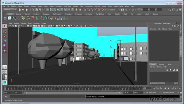 What you should know before watching this course: Creating Cityscapes in Maya