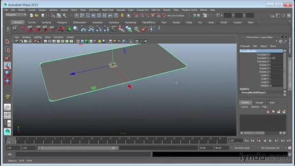 Modeling street modules: Creating Cityscapes in Maya