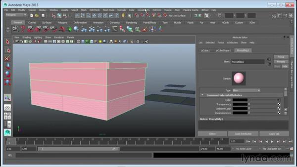 Blocking out building volumes: Creating Cityscapes in Maya