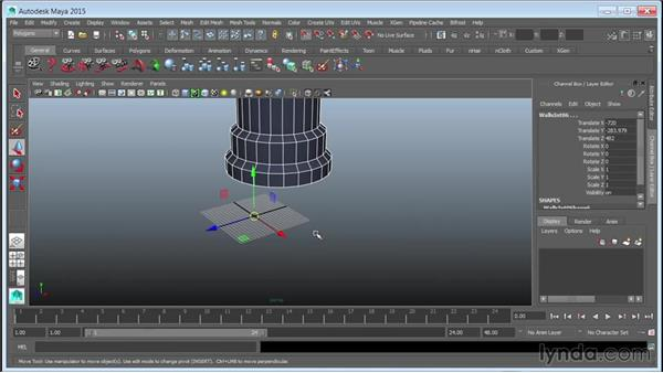 Containerizing assets for referencing: Creating Cityscapes in Maya