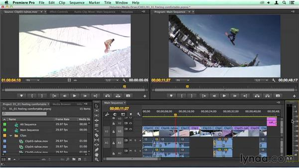 Jumping in and feeling comfortable: Migrating from Final Cut Pro 7 to Premiere Pro CC