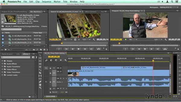 Three-point and four-point editorial: Migrating from Final Cut Pro 7 to Premiere Pro CC