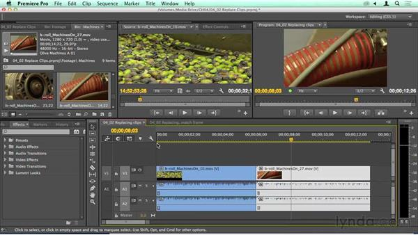 Powerful: Replacing clips: Migrating from Final Cut Pro 7 to Premiere Pro CC