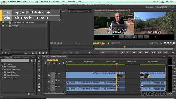 Using Premiere's Trim mode and JKL trimming: Migrating from Final Cut Pro 7 to Premiere Pro CC