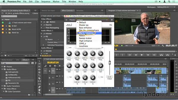 Adding effects to individual clips: Migrating from Final Cut Pro 7 to Premiere Pro CC