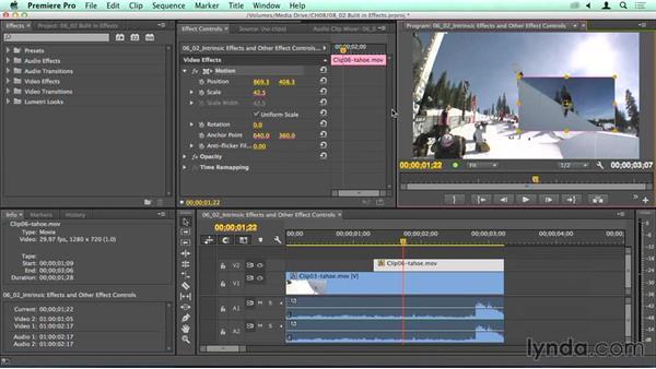 Effects: Where is my crop and drop shadow?: Migrating from Final Cut Pro 7 to Premiere Pro CC
