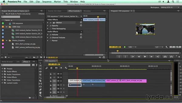 Powerful: Understanding Scale to Frame Size: Migrating from Final Cut Pro 7 to Premiere Pro CC