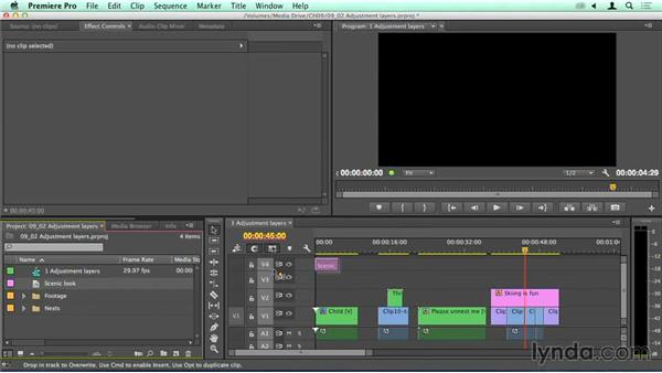 Powerful: Adjustment layers: Migrating from Final Cut Pro 7 to Premiere Pro CC