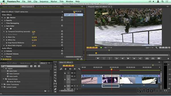 More color effects: Migrating from Final Cut Pro 7 to Premiere Pro CC