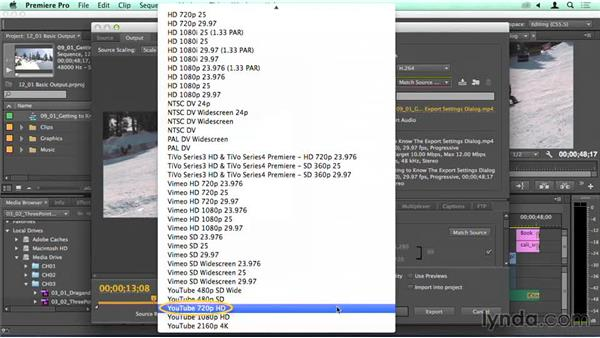 Exporting media and queuing through Adobe Media Encoder: Migrating from Final Cut Pro 7 to Premiere Pro CC