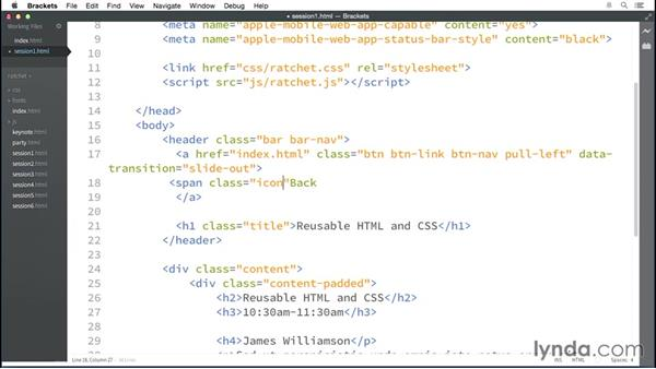 Adding icons: Multidevice Prototyping with Ratchet