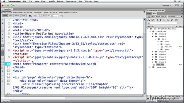 Testing the Android emulator: Building Android and iOS Apps with Dreamweaver CC and PhoneGap