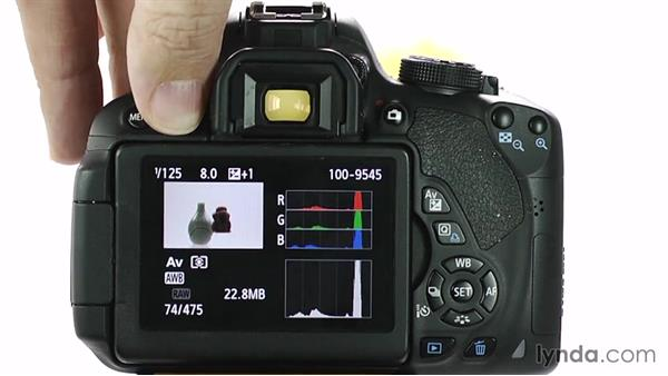 Image review and playback: Up and Running with the Canon Rebel T4i and T5i (EOS 650D and 700D)