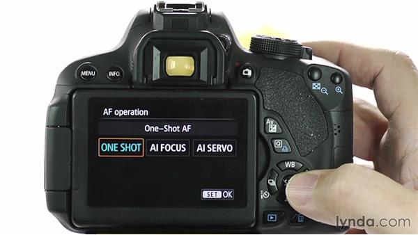 Focus modes: Up and Running with the Canon Rebel T4i and T5i (EOS 650D and 700D)