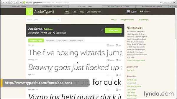 Five lightweight fonts for your next web project: Creative Quick Tips