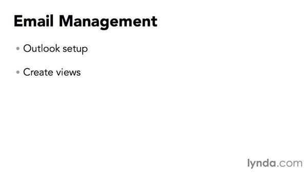 Understanding email management: Outlook 2013: Efficient Email Management
